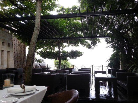 Abaca Restaurant: Ocean view