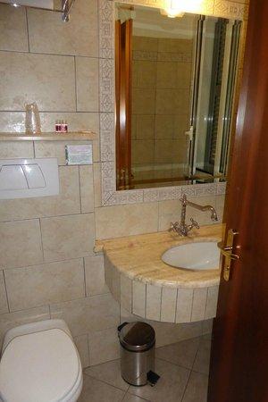 Hotel des Artistes: Badezimmer