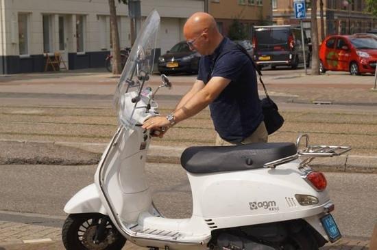 Scooter Rent Amsterdam: bike!!