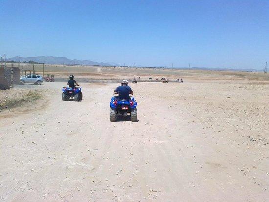 Tasnime Quad Marrakech : Excursion en plein désert
