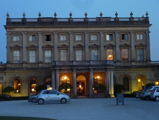 Cliveden House: evening at the clividen