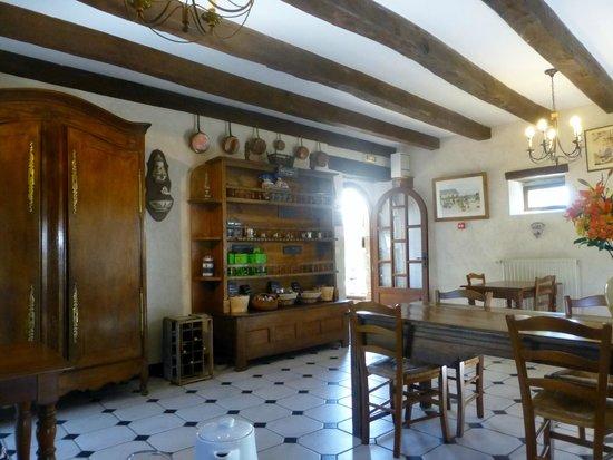 Manoir de Rigourdaine : Breakfast Room
