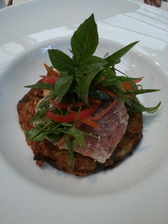 Abaca Restaurant: Seared tuna