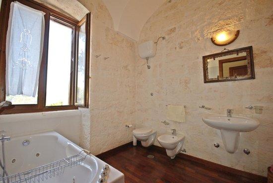 Bagno attiguo, Camera Letto Matrimoniale B&B La Rava e La Fava ...