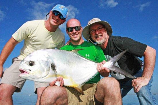 Dream South Beach : Fishing on nearby Biscayne Bay w/Joe Gonzalez
