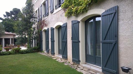 Mercure Carcassonne La Cite Hotel: Garden
