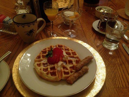 Napoleon's Retreat Bed & Breakfast: Yummy!