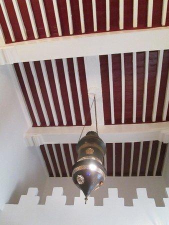 Riad Malaika: Ceiling of our room