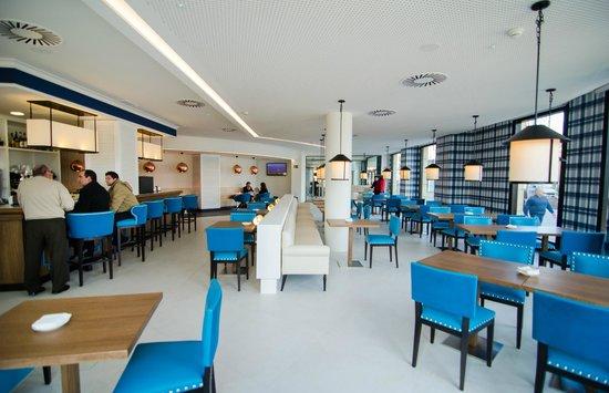 Hotel Bahía Santander: Cafetería