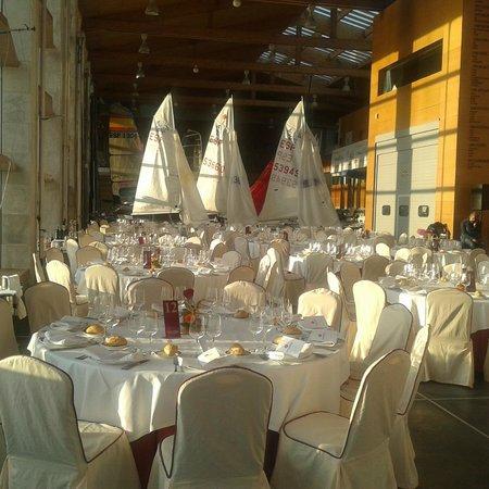 Hotel Bahía Santander: Catering C.A.R de vela Santander