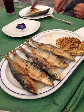 bar paco pepe: Sardines
