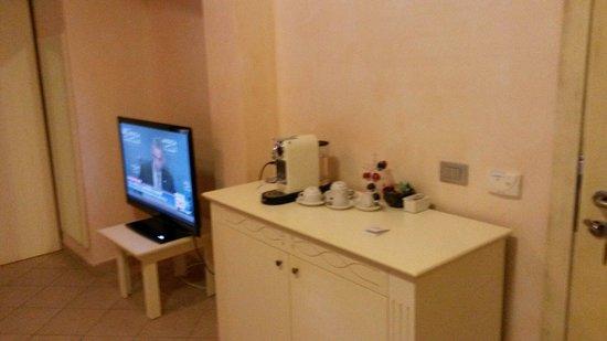 Hotel La Perla: Particolare della camera