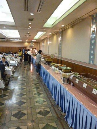 Yunohama Hotel: 夕食バイキング