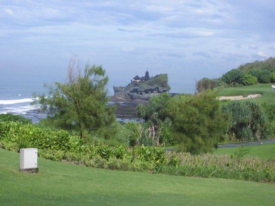 Pan Pacific Nirwana Bali Resort: タナロット寺院の眺め