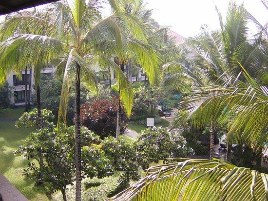Pan Pacific Nirwana Bali Resort: ベランダからの眺め