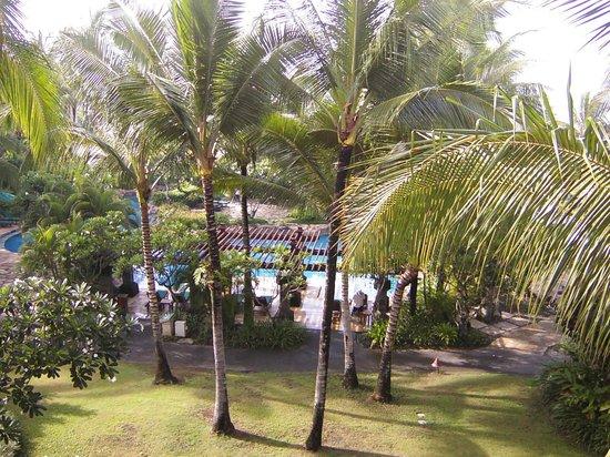 Pan Pacific Nirwana Bali Resort: バルコニーから