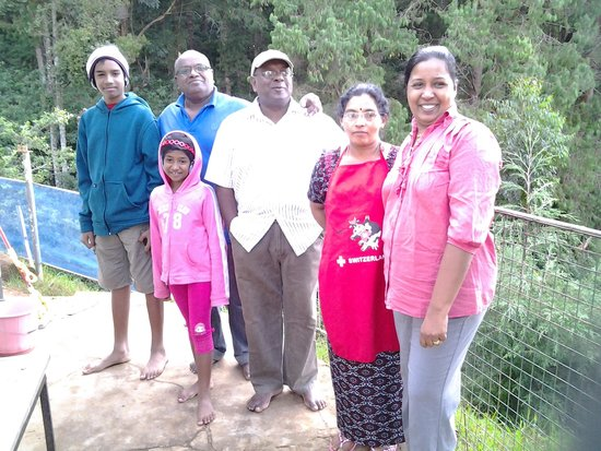 Nidwalden Resort: our family with Jp Ram and Loga