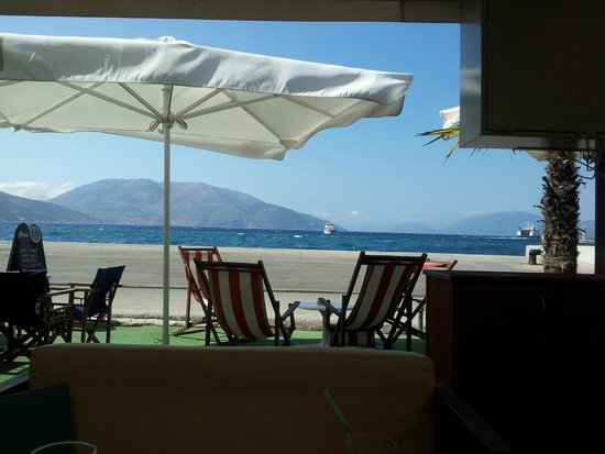 Pericles Hotel: View from a restaurant