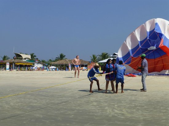 Beach Activities We Superb Picture Of The Leela Goa Cavelossim