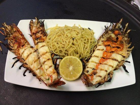 Azzurro : Nigerian shrimp