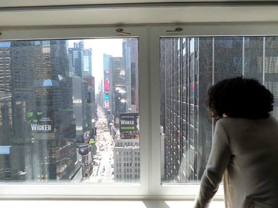 Novotel New York Times Square: la vue de notre chambre