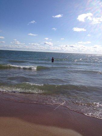 Explore Pelee: Morning dip on east side