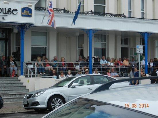 Best Western York House Hotel : Seafront Hotel