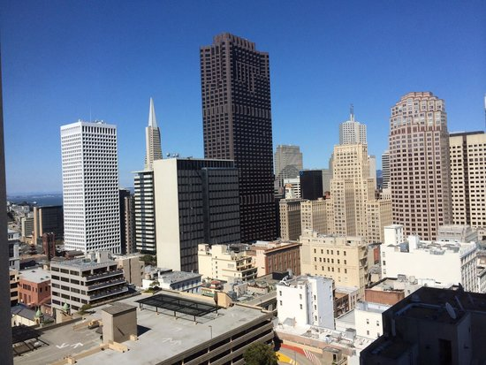 Grand Hyatt San Francisco: View from 21st floor