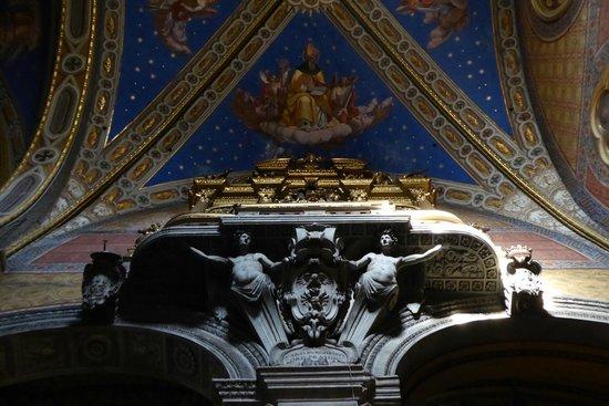 Santa Maria Sopra Minerva: Ceiling