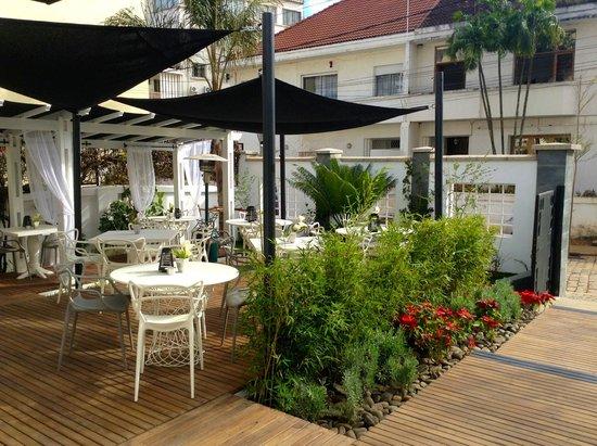 Canela : Notre terrasse