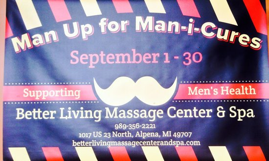 Better Living Massage Center & Spa: REAL men keep themselves CLEAN :)
