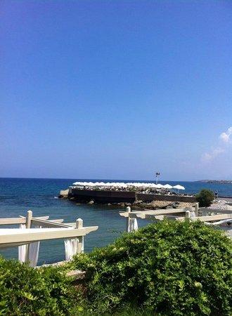 Vuni Palace Hotel: plage