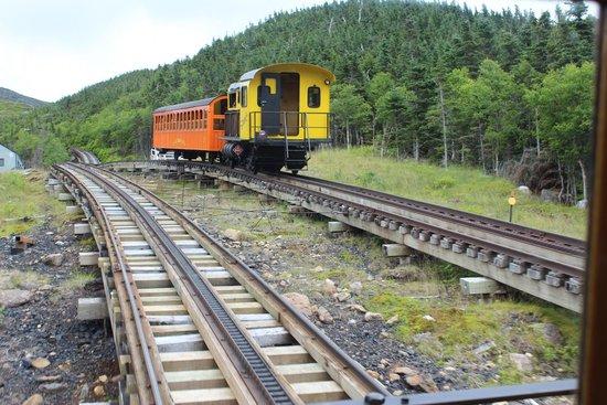 The Mount Washington Cog Railway : Comme au début du siècle
