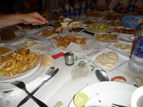 Balbaa Village: Our table!