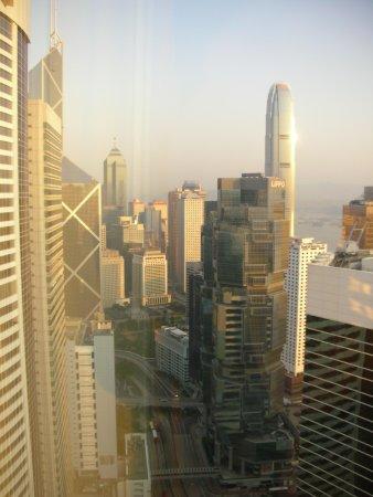 Conrad Hong Kong: 部屋からの眺め