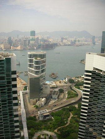 Conrad Hong Kong: ハーバービューの部屋