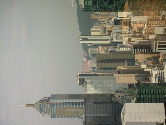 Conrad Hong Kong: 目の前にビルが