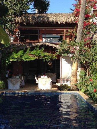 Casa na Praia : Le restaurant