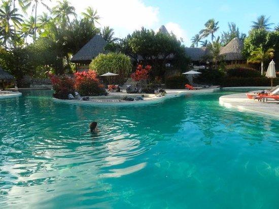 Bora Bora Pearl Beach Resort & Spa : Piscina