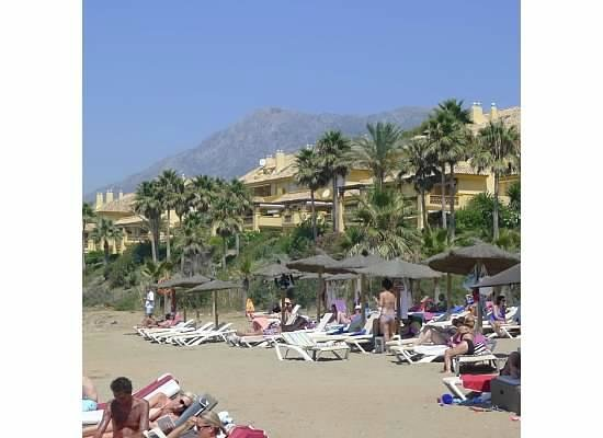 The Marbella Heights Boutique Hotel: Rio Real Beach Resort area