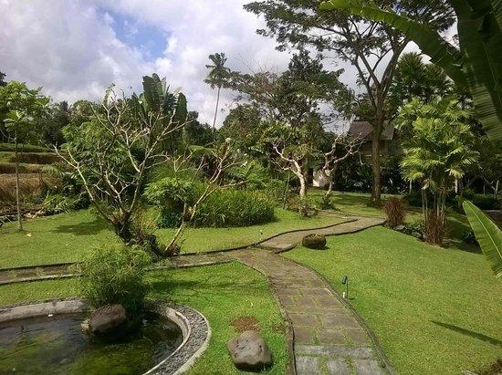 Pandawas Villas: Beautiful walkways onsite