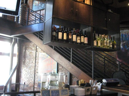 The Terminal Brewhouse: Wine selection