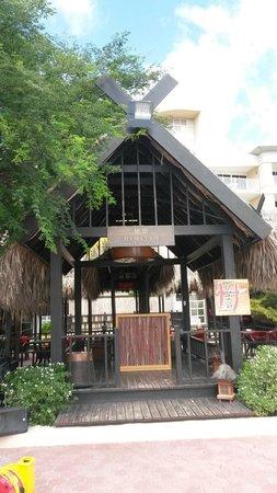 Sunscape Curacao Resort Spa & Casino: Japanese restaurant (tepanyaki) on the resort