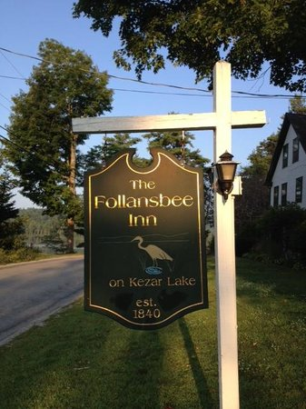 Follansbee Inn: A well maintained inn from another era