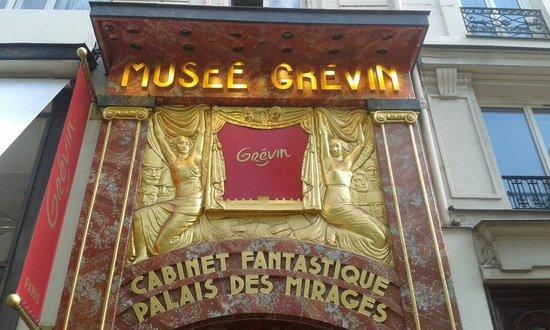 Musée Grévin : Entrée du Musée