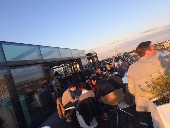 The Marker Hotel: Roof top bar is a must visit