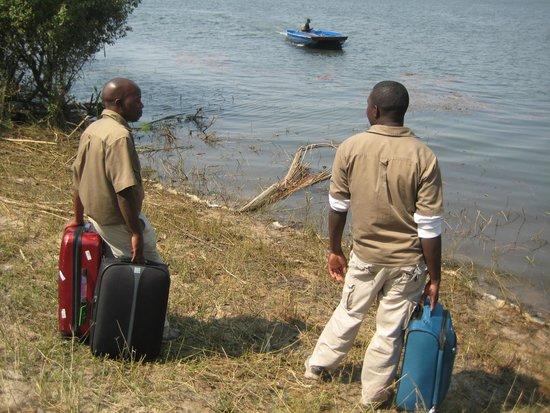 Chundukwa River Lodge: Change of Departure Plan