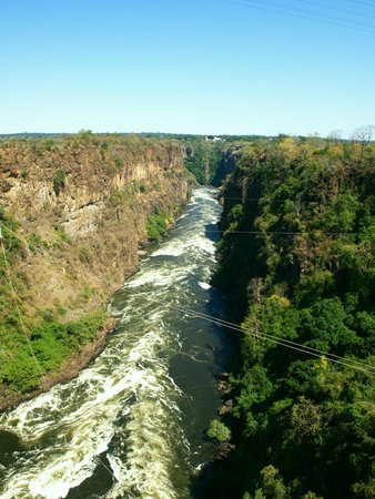 Victoria Falls Backpackers: Zambezi gorge
