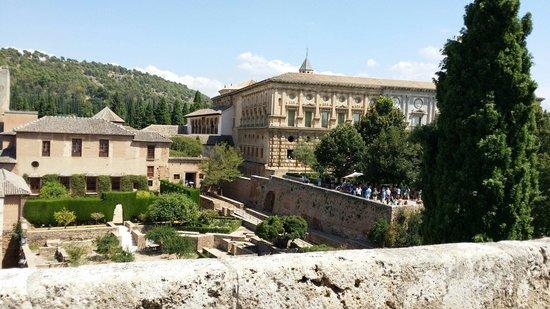 Alhambra: Vista desde la alcazaba
