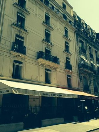 Hotel Montaigne : STAY AT YOUR OWN RISK !
